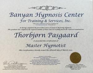 master hypnotist, hypnotisør københavn