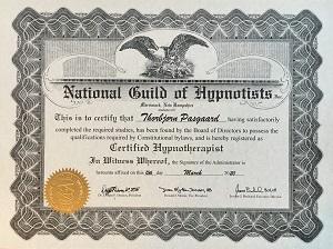 NGH certificeret hypnoterapeut
